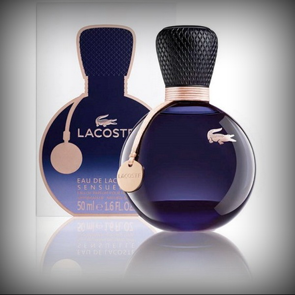 Спортивный бренд Lacoste. Eau De Lacoste Sensuelle
