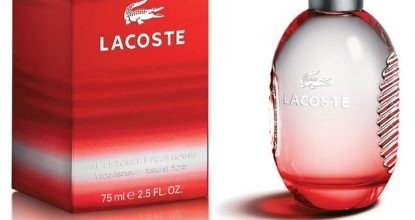Lacoste Red— мужское увлечение