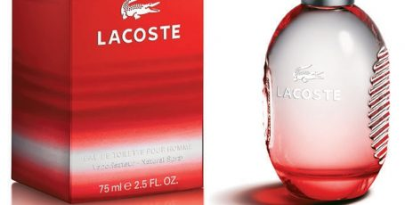 Lacoste Red — мужское увлечение