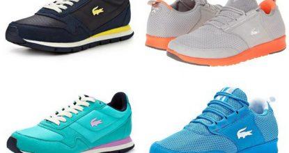 С чем сочетать кроссовки бренда Lacoste