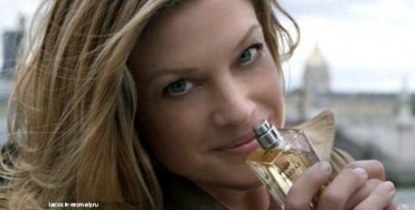 Реклама чудного аромата Lacoste Pour Femme