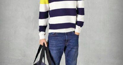 Морские мотивы в одежде компании Lacoste