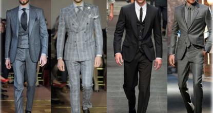 Первенство Англии в искусстве мужского костюма
