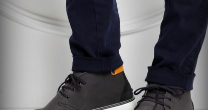 Обувь из замши Lacoste